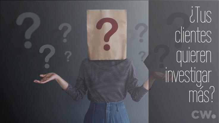"""Secretos de ventas ¿Qué debo decir si el cliente quiere """"investigar más""""?"""