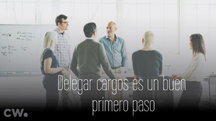Agencia de marketing: cambio de jefe unipersonal a uno que delega cargos