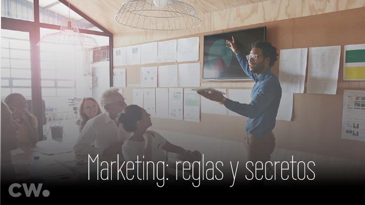 Marketing, reglas, secretos y procedimientos para una venta exitosa